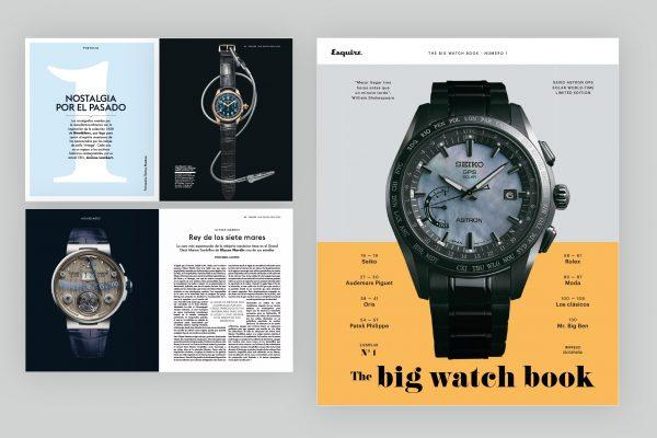 Esquire diseño y maquetación